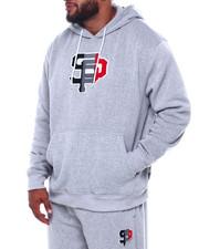 Buyers Picks - Pullover Fleece Hoodie W/Chenille Patch (B&T)-2387159