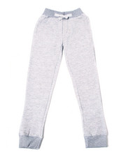 Sweatpants - Crindle Fleece Jogger Pants (8-18)-2387417