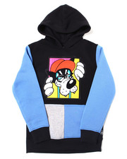 Hoodies - Pullover Fleece Hoodie w/ Chenille Patch (8-20)-2387396