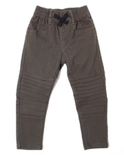 Arcade Styles - Stretch Soft Feel Moto Jogger Pant (2T-4T)-2387445