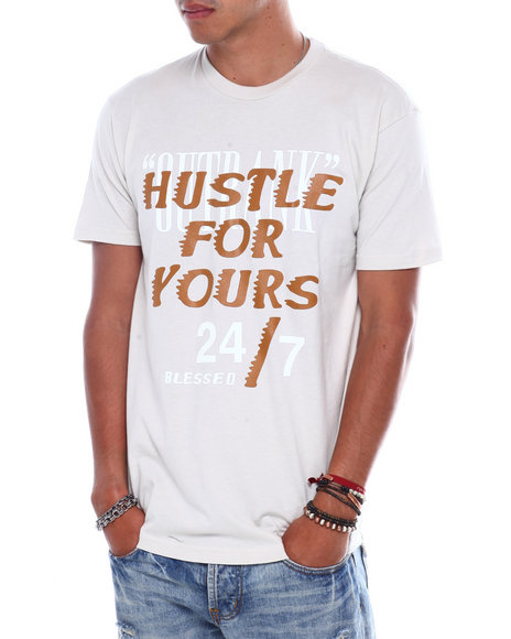 OUTRANK - Hustle for Yours Tee