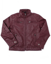 Outerwear - Boy's Fleece Lined Jacket (8-20)-2387722