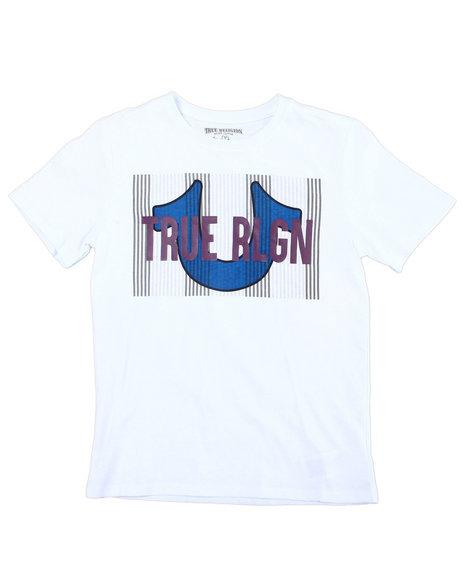 True Religion - TR Line S/S Tee W Rib Binding (8-20)