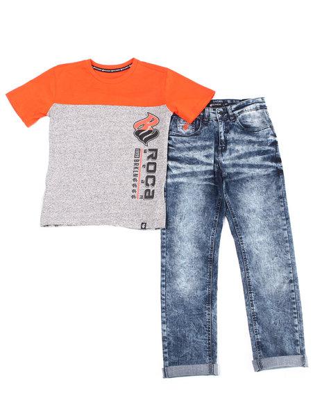 Rocawear - 2PC S/S Tee + Denim Jeans Set (Infant)