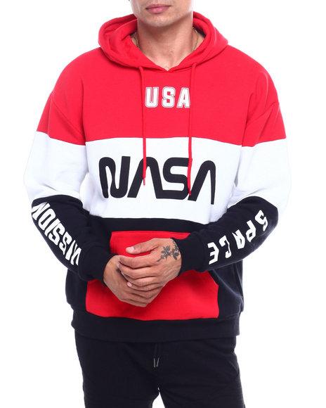 C-LIFE GROUP LTD - NASA MISSION SPACE COLORBLOCK HOODIE