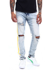 Buyers Picks - Distressed Jean with Paint Stripe-2388455