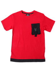 SWITCH - 3D Pocket Tee W/Buckle Strap (8-20)-2388801