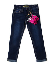 Bottoms - Ankle Jeans w/ Sequin Coin Pouch Details (7-16)-2388925