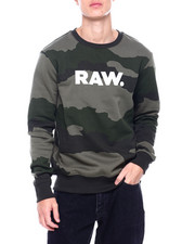 G-STAR - Raw Camo crewneck Sweatshirt-2388583
