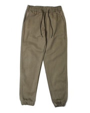 Arcade Styles - Twill Fashion Jogger Pants W/Drawstring Waistband (4-7)-2388760