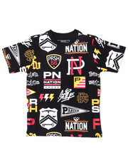 Parish - AOP Graphic S/S Tee (4-7)-2388866