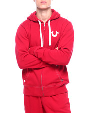 Outerwear - Classic Logo Zip Up Hoodie-2388598