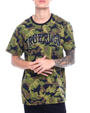 True Religion - SS CAMO PRINTED CREW NECK TEE-2388593