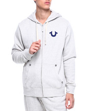 Outerwear - Classic Logo Zip Up Hoodie-2388734