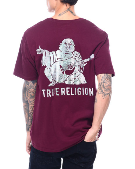 True Religion - SS NEW BUDDHA CREW NECK TEE