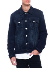 True Religion - TRUCKER JACKET Last Call Wash-2388702