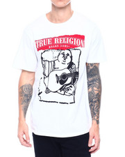 True Religion - SS PAINTED BUDDHA CREW NECK TEE-2388652