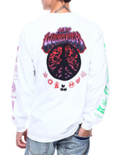 HUF - WOODSTOCK LOADED L/S TEE-2387017