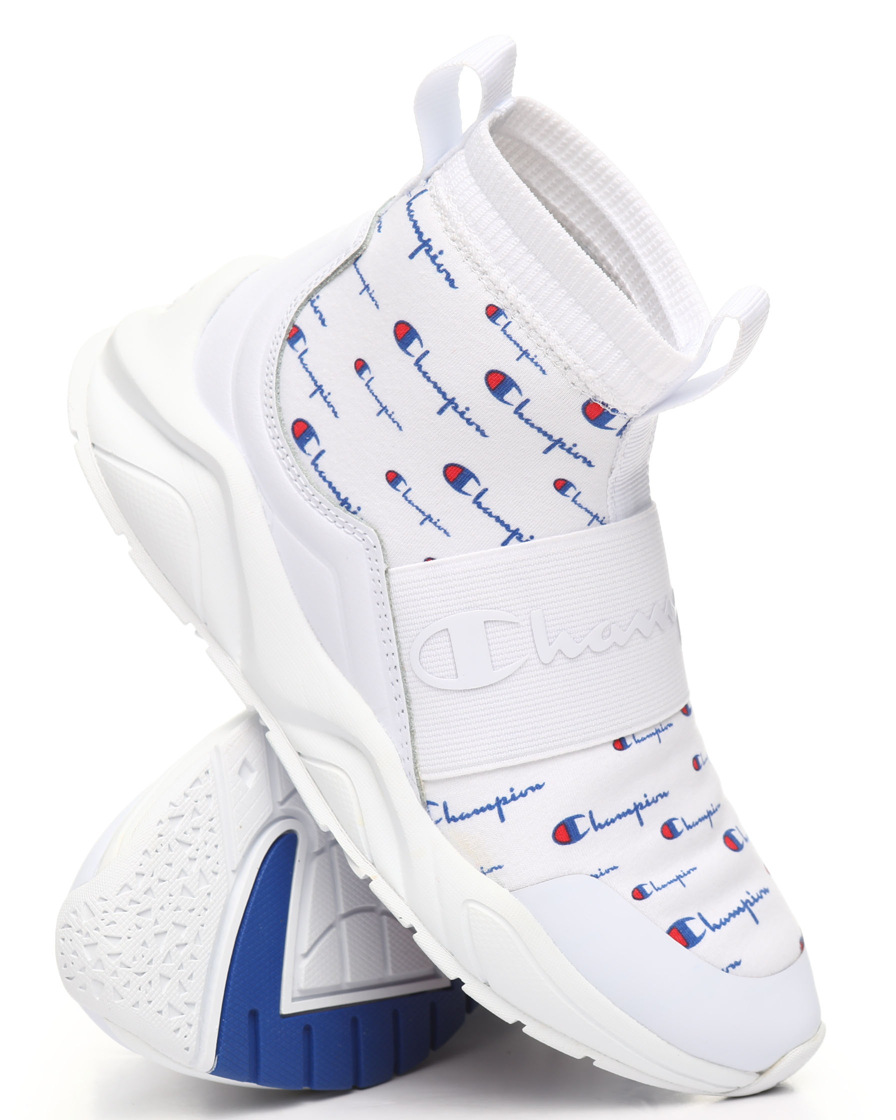 champion women's rally print shoes off