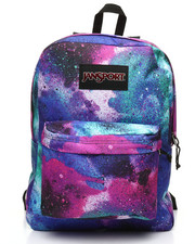 JanSport - Black Label Superbreak Graffiti Clouds Backpack (Unisex)-2387295