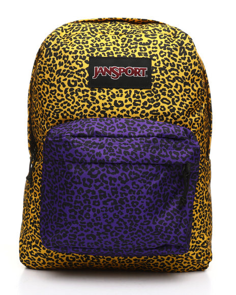JanSport - Black Label Superbreak Leopard Life Backpack (Unisex)