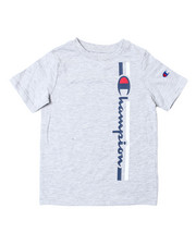 Champion - Vertical Script W/Line SS Tee (8-20)-2389852
