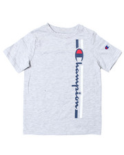 Champion - Vertical Script W/Line SS Tee (4-7)-2389864