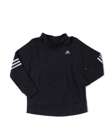 Adidas - French Terry Long Sleeve Pullover (7-16)