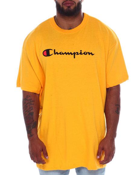 Champion - S/S Retro Champion Script Tee (B&T)