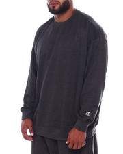 Russell Athletics - L/S Fleece Crew Neck (B&T)-2389275