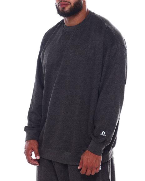 Russell Athletics - L/S Fleece Crew Neck (B&T)