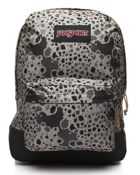 JanSport - Black Label Superbreak Stony Camo Backpack (Unisex)