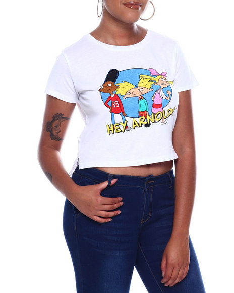 Graphix Gallery - Hey Arnold S/S Skimmer Tee