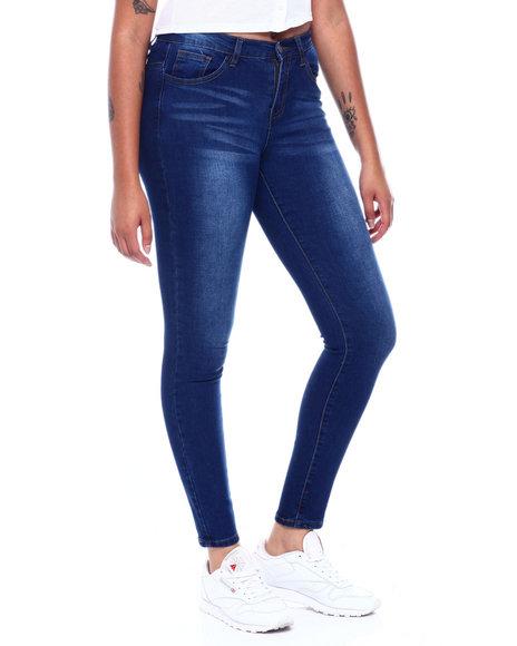 Fashion Lab - Whisker Wash 5 Pocket Skinny Jean