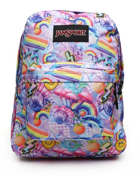 JanSport - Black Label Superbreak Rainbow Delight Backpack (Unisex)