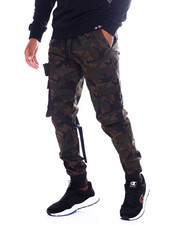 Athleisure for Men - Twill Tactical Cargo Jogger-2390063