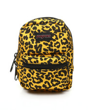 JanSport - Lil' Break Leopard Life Pouch (Unisex)-2387282