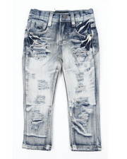 Boys - Rip & Repair Jeans (2T-4T)-2390789