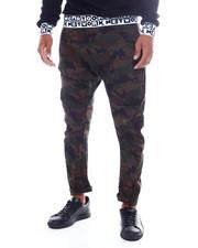 Men - Twill Arc Leg Jogger-2390023