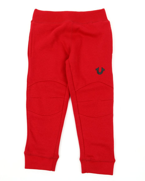True Religion - French Terry Sweatpants W/Welt Pockets (2T-4T)