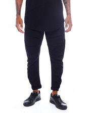 Men - Twill Arc Leg Jogger-2390038