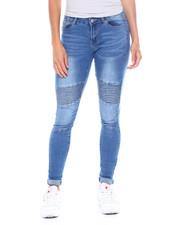 Jeans - 5 Pocket Moto Skinny Jean-2386010