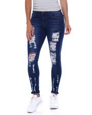 Jeans - Destructed 5 Pocket Skinny Jean-2385983
