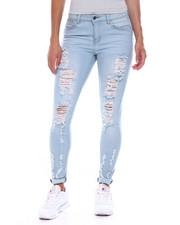 Fashion Lab - Destructed 5 Pocket Skinny Jean-2385974
