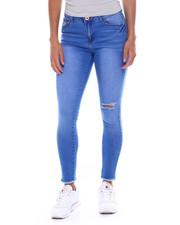 Fashion Lab - 5 Pkt Distressed Knee Butt-Lifter Jean-2381384