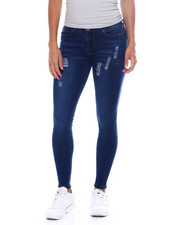 Bottoms - Distressed Skinny Jean-2389034