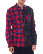 Levi's - DRIES COLORBLOCK plaid BUTTONFRONT LS SHIRT-2391067