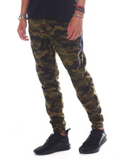 Joggers - CAMO HEAT SEAL ZIPPER JOGGER-2391073