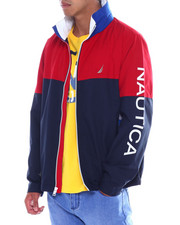 Mens-Fall - COLORBLOCK HERITAGE BOMBER JACKET-2391303