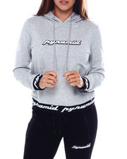 Womens-Fall - Core 3D Patch Pullover Hoody-2389231